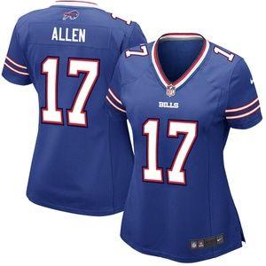 reputable site 451c5 58c94 Women's Buffalo Bills Josh Allen Jersey NWT